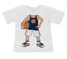 Auburn Tigers Heads Up! Basketball Infant/Toddler T-Shirt