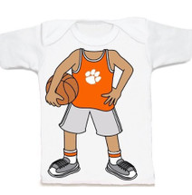 Clemson Tigers Heads Up! Basketball Infant/Toddler T-Shirt