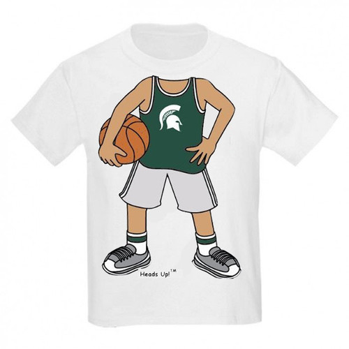 Michigan State Spartans Heads Up! Basketball Infant/Toddler T-Shirt