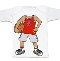 NC State Wolfpack Heads Up! Basketball Infant/Toddler T-Shirt