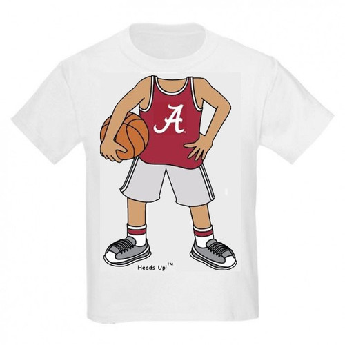Alabama Crimson Tide Heads Up! Basketball Infant/Toddler T-Shirt
