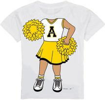 Appalachian State Mountaineers Heads Up! Cheerleader Infant/Toddler T-Shirt