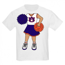 Auburn Tigers Heads Up! Cheerleader Infant/Toddler T-Shirt