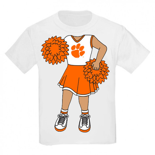 Clemson Tigers Heads Up! Cheerleader Infant/Toddler T-Shirt