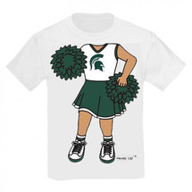 Michigan State Spartans Heads Up! Cheerleader Infant/Toddler T-Shirt