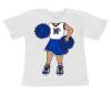 Memphis Tigers Heads Up! Cheerleader Infant/Toddler T-Shirt