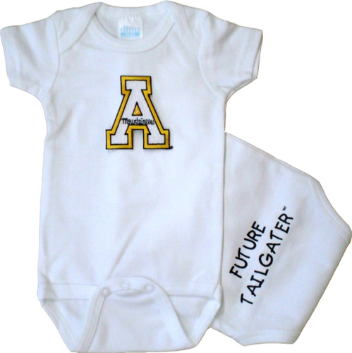 Appalachian State Mountaineers Future Tailgater Baby Onesie