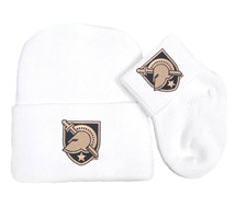 Army Black Knights Knit Cap and Socks Baby Gift Set