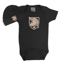 Army Black Knights Baby Bodysuit and Cap