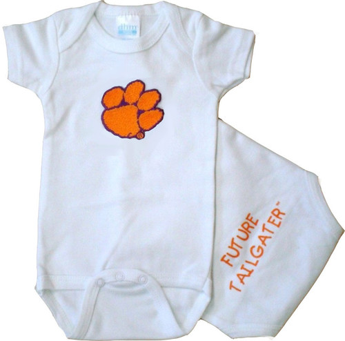 Clemson Tigers Future Tailgater Baby Onesie