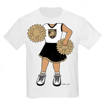 Army Black Knights Heads Up! Cheerleader Infant/Toddler T-Shirt