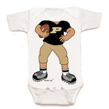 Purdue Boilermakers Heads Up! Football Baby Onesie