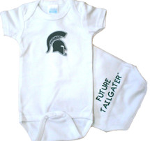 Michigan State Spartans Future Tailgater Baby Onesie