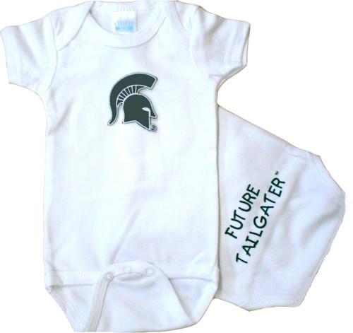 Michigan State Spartans Future Tailgater Baby Onesie