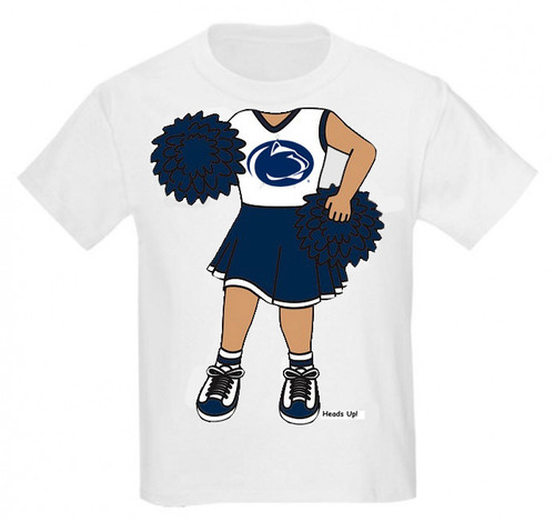 Penn State Nittany Lions Heads Up! Cheerleader Infant/Toddler T-Shirt