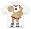 Vanderbilt Commodores Heads Up! Cheerleader Infant/Toddler T-Shirt
