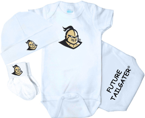 UCF Knights Homecoming 3 Piece Baby Gift Set