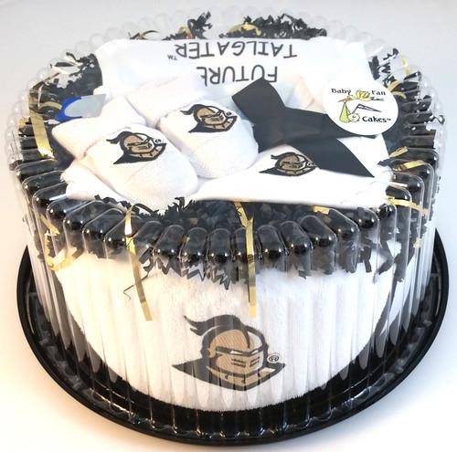UCF Knights Baby Fan Cake Clothing Gift Set