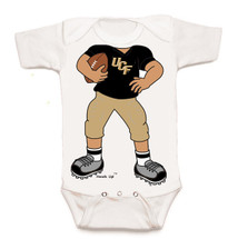 UCF Knights Heads Up! Football Baby Onesie