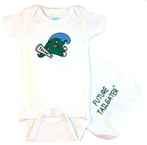Tulane Green Wave Future Tailgater Baby Onesie