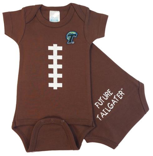 Tulane Green Wave Future Tailgater Football Baby Onesie