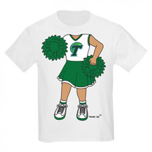 Tulane Green Wave Heads Up! Cheerleader Infant/Toddler T-Shirt
