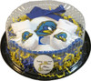Delaware Blue Hens Piece of Cake Baby Gift Set