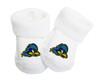 Delaware Blue Hens Baby Toe Booties