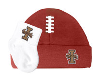 Idaho Vandals Football Cap and Socks Baby Set