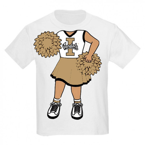 Idaho Vandals Heads Up! Cheerleader Infant/Toddler T-Shirt