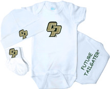 Cal Poly Mustangs Homecoming 3 Piece Baby Gift Set