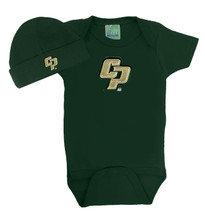 Cal Poly Mustangs Baby Bodysuit and Cap Set