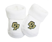 Cal Poly Mustangs Baby Toe Booties
