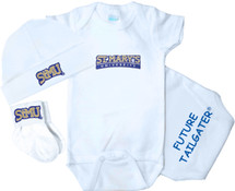 St. Mary's Rattlers Homecoming 3 Piece Baby Gift Set