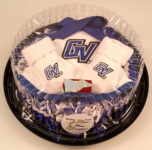 Grand Valley State Lakers Piece of Cake Baby Gift Set