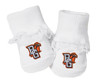 Bowling Green St. Falcons Baby Toe Booties with Lace