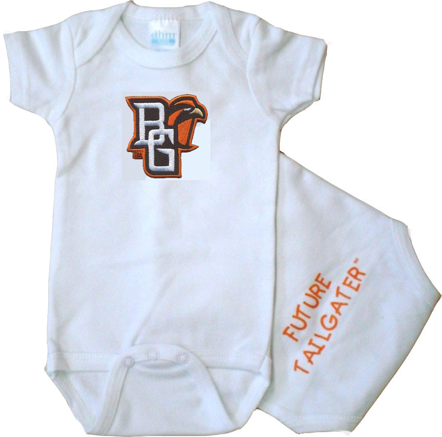 new arrival 161d7 bef48 Bowling Green St. Falcons Future Tailgater Baby Bodysuit