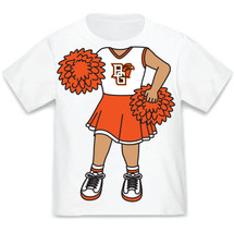 Bowling Green St. Falcons Heads Up! Cheerleader Infant/Toddler T-Shirt