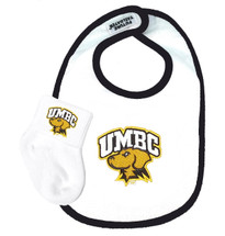 UMBC Retrievers Baby Bib and Socks Set