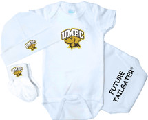 UMBC Retrievers Homecoming 3 Piece Baby Gift Set