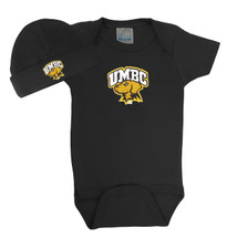 UMBC Retrievers Baby Bodysuit and Cap