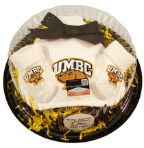 UMBC Retrievers Piece of Cake Baby Gift Set