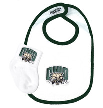 Ohio Bobcats Baby Bib and Socks Set