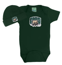 Ohio Bobcats Baby Bodysuit and Cap Set