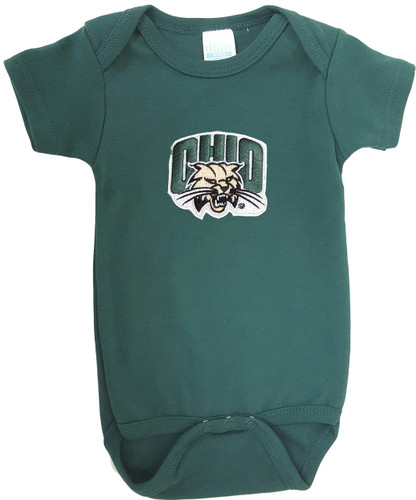 Ohio Bobcats Team Spirit Baby Onesie