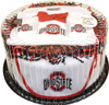 Ohio State Buckeyes Baby Fan Cake Clothing Gift Set