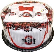 Ohio State Buckeyes Baby Fan Cake Clothing Gift Set