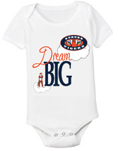 Auburn Tigers Dream Big Baby Onesie