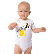 Appalachian State Mountaineers Dream Big Baby Onesie