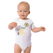 Cal Poly Mustangs Dream Big Baby Onesie